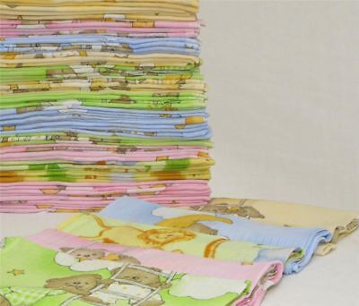 LARGE 3x MUSLIN SQUARE PACK CLOTHS 100% COTTON BABY REUSABLE BIBS NAPPY WIPES