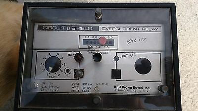 Brown Boveri (ABB) Circuit Shield Overcurrent Relay, ITE 51Y, Category 223S2140