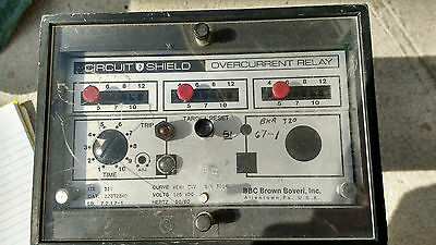 Brown Boveri (ABB) Circuit Shield Overcurrent Relay, ITE 51Y, Category 223T2340