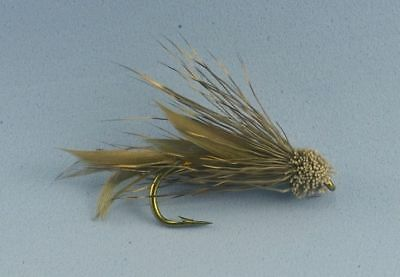 Muddler Minnow Flies Size 6 Trout Freshwater Fly fishing 5 pcs Free Postage