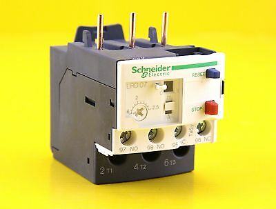 Schneider Electric Thermal Overload Relay LRD07 , 1.6-2.5A 600V AC - 034677