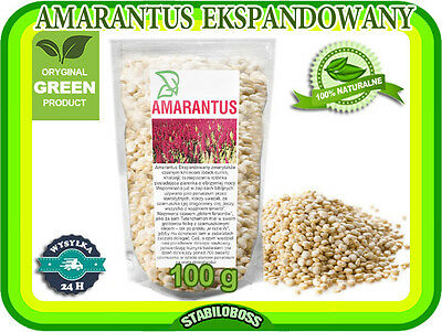 GLUTEN FREE Grain Amaranth seeds  expanded 250g High Protein*