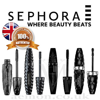 Sephora Outrageous Mascara,Oversized, lenght, volume,curl & waterproof, black