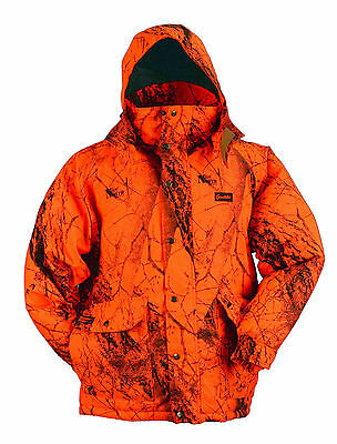 Gamehide Deerhunter Insulated Blaze Orange (Camo) Parka