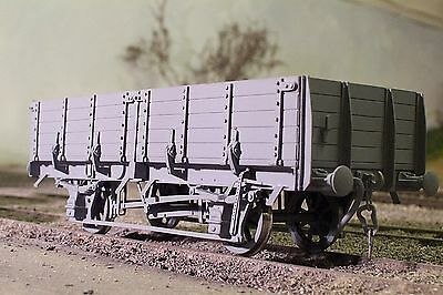 New Brass Etched O Gauge Pipe Wagon Kit (4 Shoe)