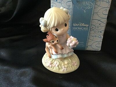 Precious Moments Disney Showcase Girl With Bambi 730013 Discover The Beauty...