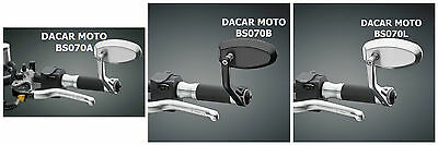 Rearview Mirror Rizoma Reverse Retro Left Right Bmw + Adapter