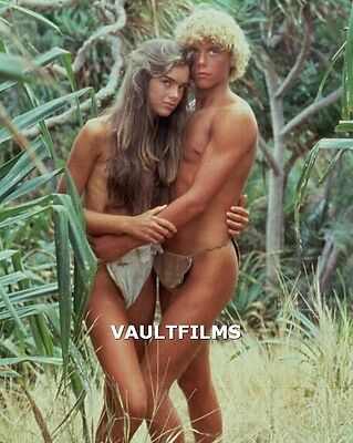 "CHRISTOPHER ATKINS - BROOKE SHIELDS - 10"" x 8""  Photo 'BLUE LAGOON' 1980 #439"