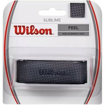 Wilson Sublime Replacement Grip - Feel - Black - Rrp £15