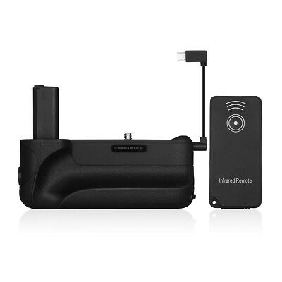 Battery Grip for Sony Alpha A6300 A6000 ILCE-6300 ILCE-6000 + IR Remote Control