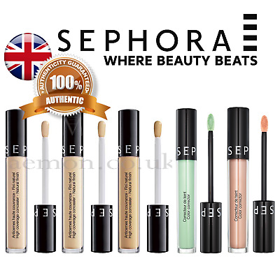 Sephora High Coverage Concealer Smoothes the eye contour 6colours