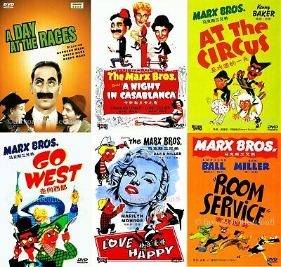 The Marx Brothers Collection - The Marx Brothers - 8 DVDs NEW