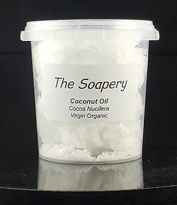 Coconut Oil - 500g - Extra Virgin Organic Unrefined Cold Pressed Pure Raw