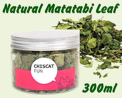 Japanese Matatabi Polygama Natural Catnip Leaf Refill Treat Cat Toy Relaxing