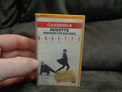 ROXETTE_Dressed For Success_used cassette cassingle_ships from AUS!_S7