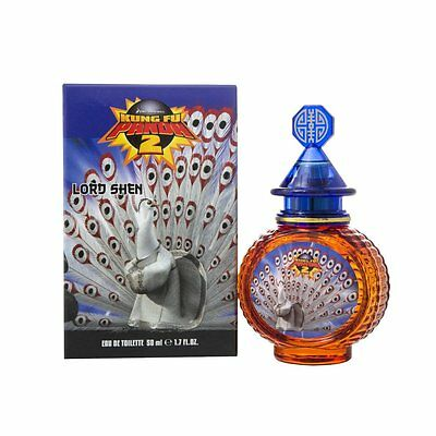 Kung Fu Panda Lord Shen 50ml EDT Spray - BRAND NEW BOXED & SEALED - UK
