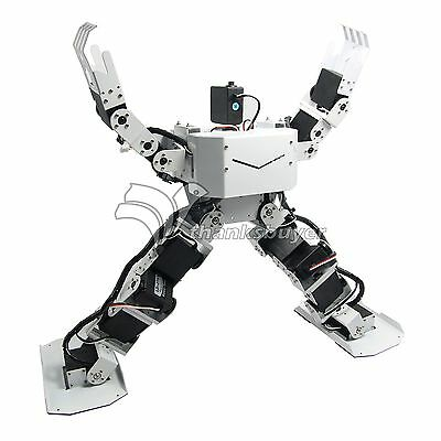 Assembled 17DOF Robo-Soul H3.0 Biped Robtic Humanoid Robot w Servos & Controller