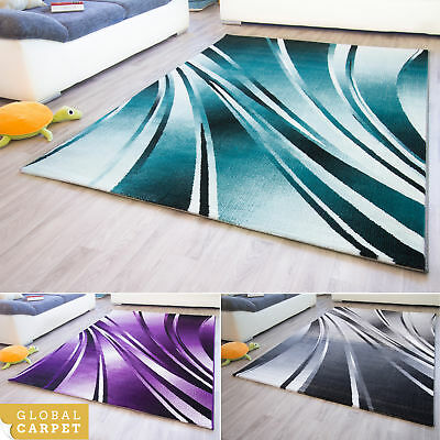New Modern Rug Dolce Metallic Design Colourful Mats Small Large