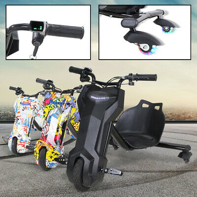 Drift Scooter 360 E-Scooter Drifting GoKart Kinder Elektroauto Dreirad cart Bike