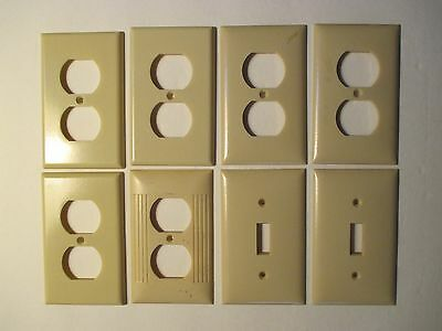 Vintage Group Lot Bakelite Switch Plate And Outlet Covers 8 Total