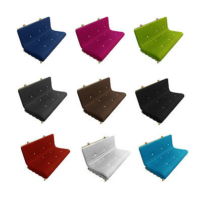 Mylayabout Memory Foam Solid Futon Mattress | Roll Out Bed | 3 sizes |10 colours