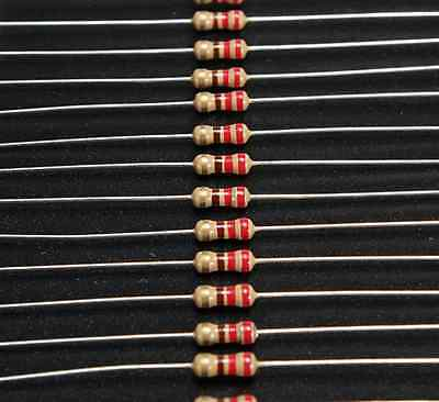 200 x 220 Ohm Resistors 1/4 Watt Arduino PIC ATMega in UK