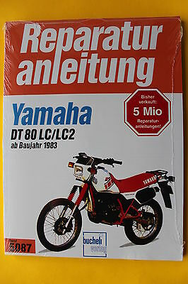 Yamaha DT 80 LC / LC2 ab 1983 Reparaturanleitung Handbuch