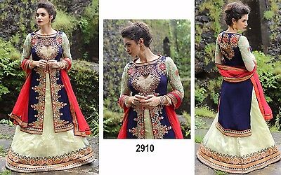 Lehenga India Wedding Designer Latest Bollywood replica lengha blouse dress sari