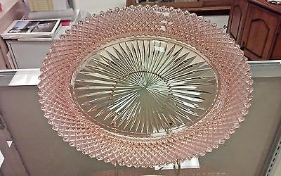 Pink Miss America Oval Serving Bowl - Hocking Glass