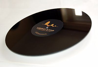 ULTIMATE Audiophile UPGRADE for Thorens! - Vibro-Stop Platter Mat - Way Better!
