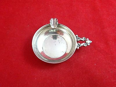 Sterling Silver Ashtray with Acorn Handle  (#2483)