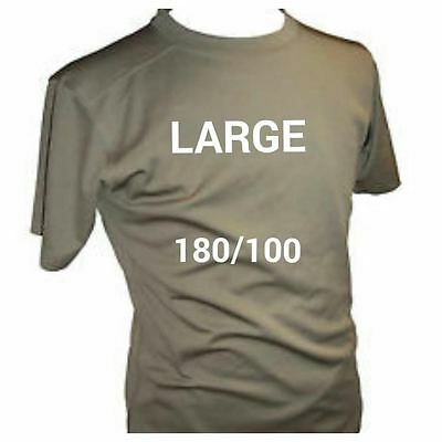 British Army Coolmax T - Shirts - Mtp - Self Wicking - Used -  Large 180/100