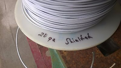 20 Gauge AWG Single Conductor Shielded Aircraft Cable Wire Mil M27500 100 Ft