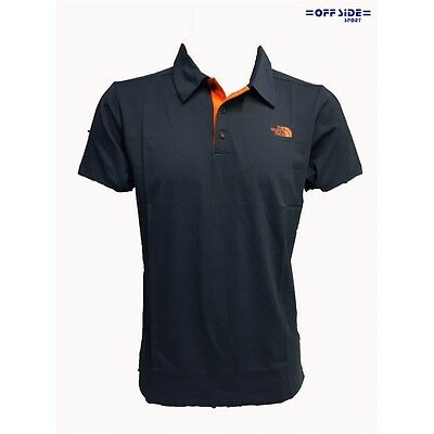 North Face Polo Uomo M Tech Polo Blu