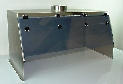 "Cleatech Stainless Steel 48"" Ducted Fume Hood"