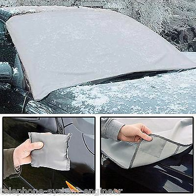 Magnetic Car WINDSCREEN COVER Frost Ice Shield Snow Dust Protector Sun Shade UK