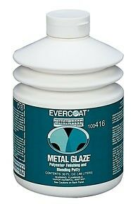 LOT Of 4 – Evercoat® 416 Metal Glaze Polyester Finishing and Blending Putty