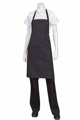 Chef Works AB012 Butcher Apron with Contrasting Ties, New, Free Shipping