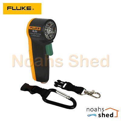 FLUKE UV Gas Leak Detector Laser Pointer Flashlight HVAC Refrigerant RLD2