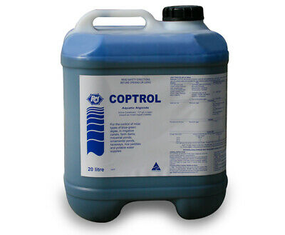Coptrol Commercial Grade Algicide 20Litres - For Algae Control in dams & ponds