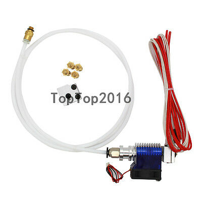 3D Printer J-head Hotend With Fan Wade Extruder 0.4mm Nozzle + Volcano pack