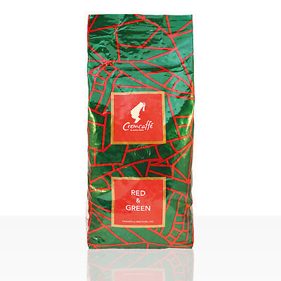 Cremcaffé by Julius Meinl Red & Green 1kg ganze Bohne