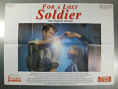 For A Lost Soldier -Rudi Van Dantzig/maarten Smit- Original Uk Quad Movie Poster