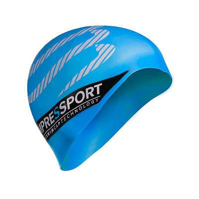 NEW Compressport Silicone Swim Cap - Aqua from Ezi Sports Store