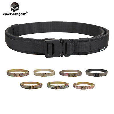 EMERSON 1.5 Inch Hard Belt Tactical Shooter Military Airsoft Hunting 1000D E9250