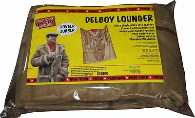 Only Fools & Horses Blanket With Sleeves Fleece Del Boy Lounger DISCOUNTED