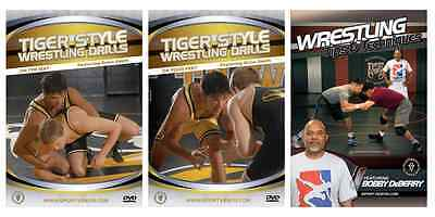 Wrestling Instructional DVDs - Buy Two DVDs Get One Free - Also Free Shipping!!