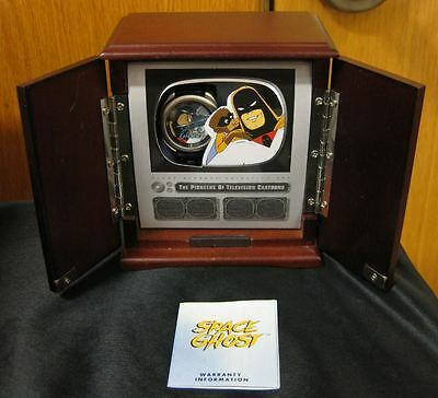 NOS SPACE GHOST 1996 Limited Edition Fossil Watch 2500 Cartoon Character TV Box