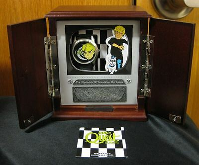 NOS Jonny Quest 1996 Limited Edition Fossil Watch 2500 Cartoon Character TV Box