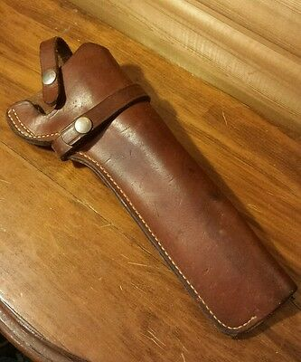 VTG Smith & Wesson Leather Dirty Harry Holster Sidearm 357 Revolver 44 Magnum
